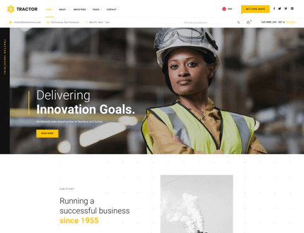 Modern Homepage
